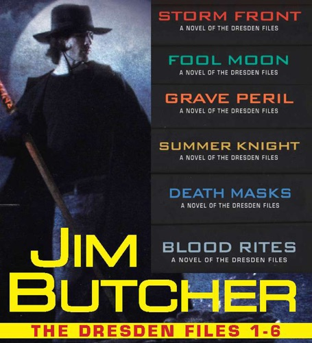 Jim Butcher - The Dresden Files Collection 1-6