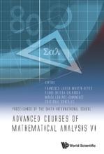Advanced Courses Of Mathematical Analysis Vi - Proceedings Of The Sixth International School