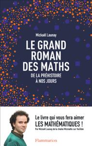 Le grand roman des maths La couverture du livre martien