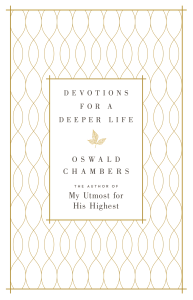 Devotions for a Deeper Life Book Cover