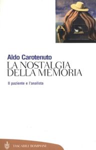 La nostalgia della memoria Copertina del libro