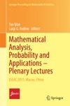 Mathematical Analysis Probability And Applications  Plenary Lectures