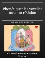 Phonétique: les voyelles nasales: révision