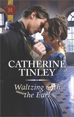 Waltzing with the Earl - Catherine Tinley book
