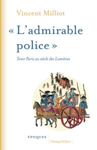 « L'admirable police » La couverture du livre martien