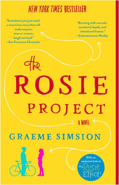 The Rosie Project - Graeme Simsion book cover