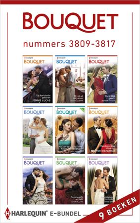 Bouquet e-bundel nummers 3809 - 3817 (9-in-1) - Jennie Lucas, Chantelle Shaw, Jennifer Hayward, Andie Brock, Carol Marinelli, Sharon Kendrick, Tara Pammi, Cathy Williams & Amanda Cinelli