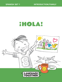 Spanish for Kids: Family (Read-Along) Early Reader