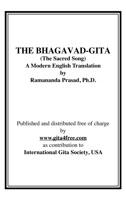 THE BHAGAVAD-GITA (The Sacred Song) A Modern English Translation