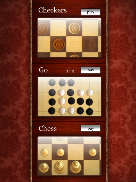 Touch Boards for iPad Classic Board Games