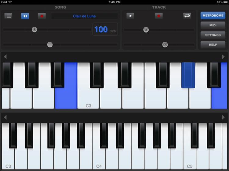 Piano Sharp HD Lite screenshot-3