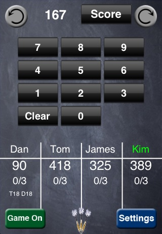 iNtuitive Darts Scorer screenshot-1