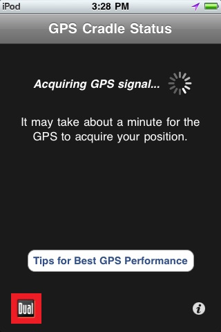 GPS Cradle Status Tool screenshot-0
