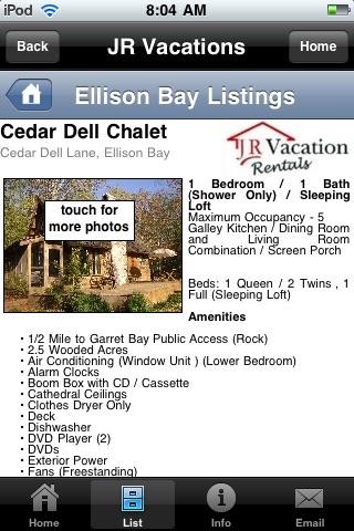 J R Vacation Rentals screenshot-4