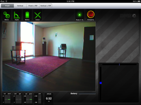 Screenshot #4 pour Système à Enseigner ARDrone: Piloter le drone