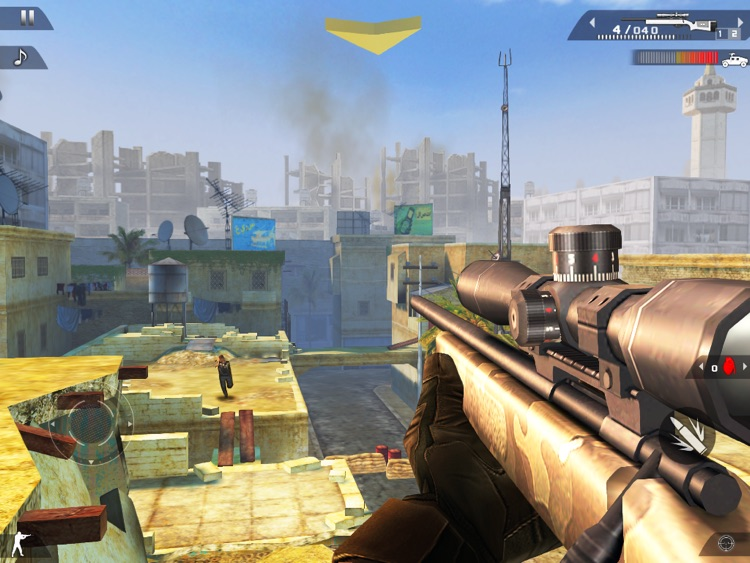 Modern Combat 2: Black Pegasus HD screenshot-1