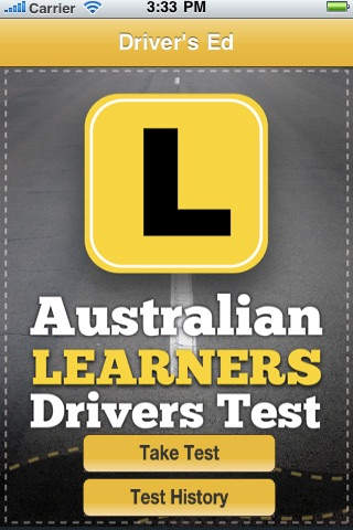 Australian Learner Drivers Test screenshot 1