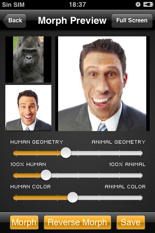 Morphing-Animal Free Version screenshot-3