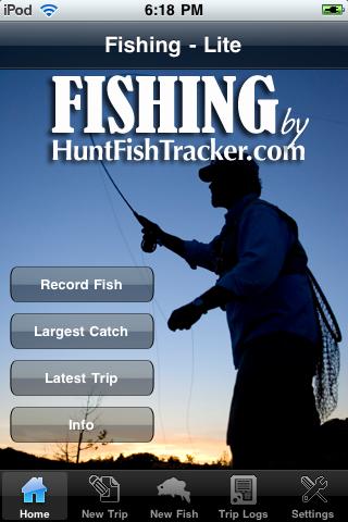 Fishing by HuntFishTracker