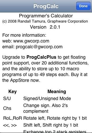 ProgCalc RPN Programmer Calculator-Free
