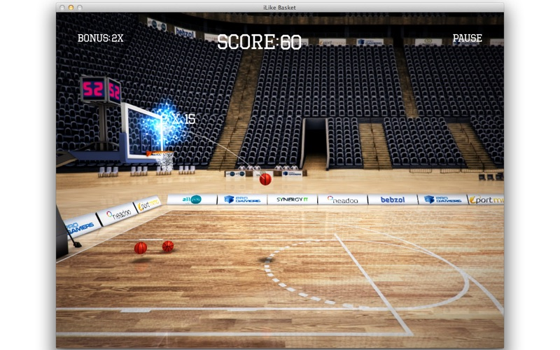 iLike Basket Screenshot