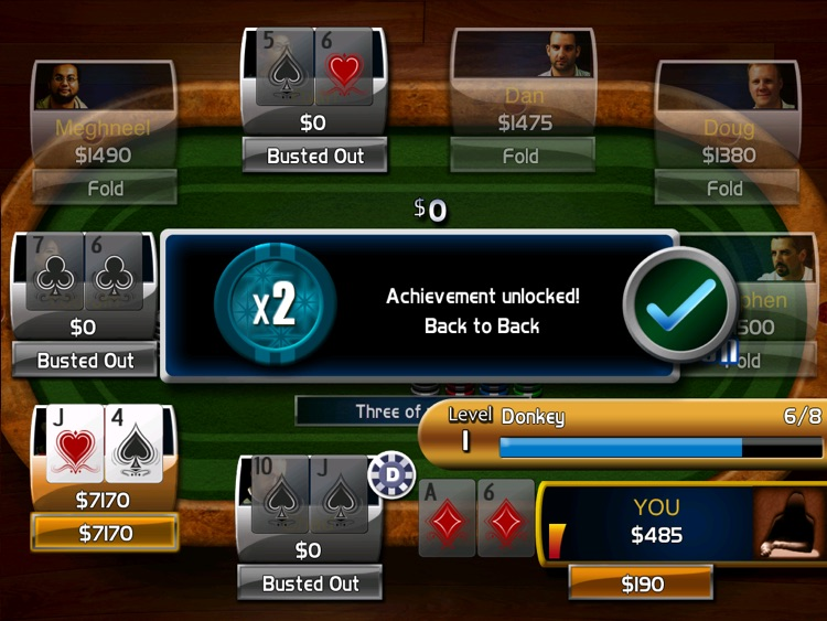 Poker: Hold'em Championship HD screenshot-3