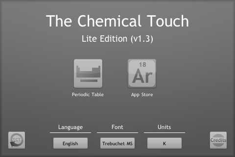 The Chemical Touch: Lite Edition