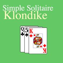 Simple Klondike Solitaire