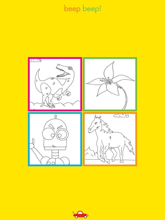 Beep Beep Coloring Books