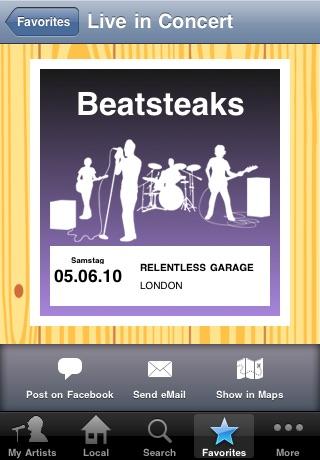 Live Music App screenshot-4