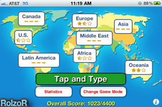 TapQuiz Maps World Edition-2