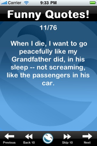 Funny Quotes (FREE) screenshot four