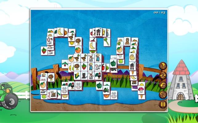 Barnyard Mahjong Screenshot