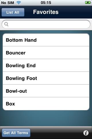 Cricket Terms screenshot-3