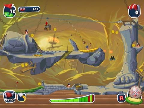 Worms Crazy Golf HD для iPad