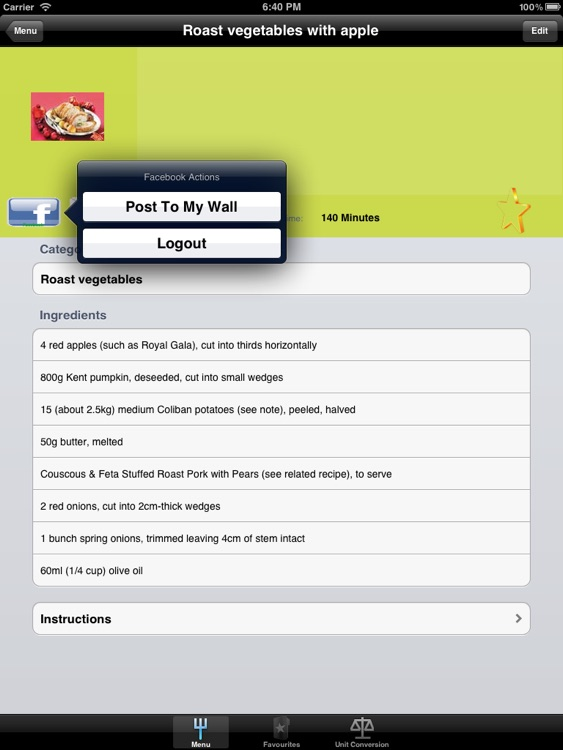 Side Dish Recipes Designed for iPad screenshot-4