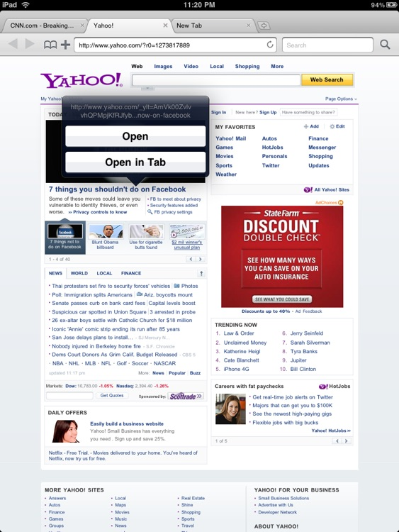 Mercury (Tabbed Web Browser) screenshot-4