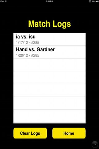 Wrestling Scorecard screenshot-3