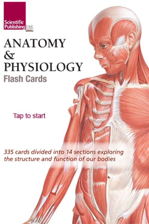 Anatomy Flash Cards App Choice Image - human body anatomy