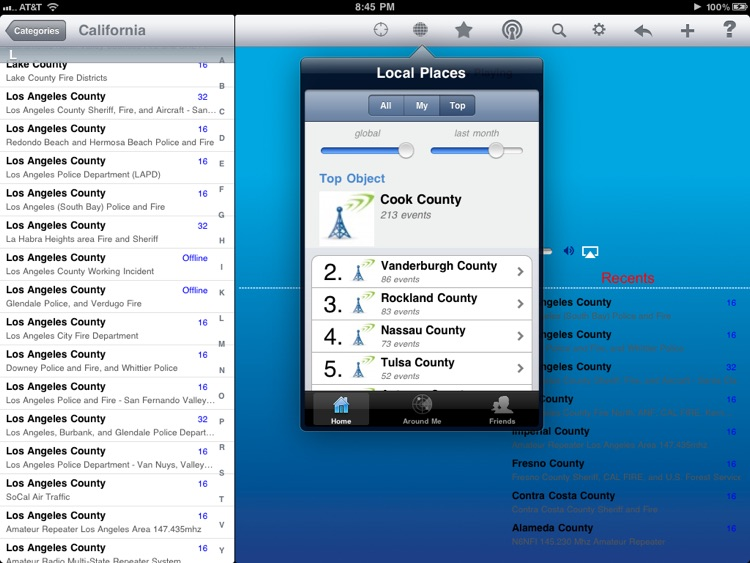 Scanner Radio - iPad Edition