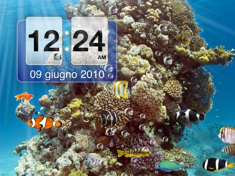 Amazing Aquarium Clock HD LITE screenshot-3