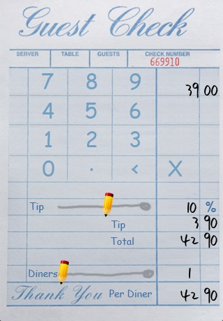TapTapTip - Tip Calculator - Eat out, hassle-free screenshot-4