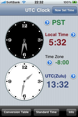UTC Clock screenshot-0