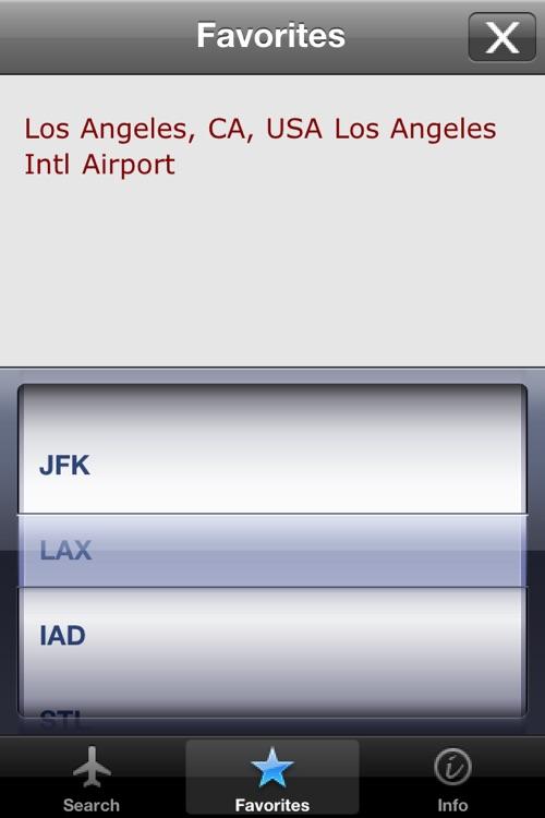 Airport Codes screenshot-4