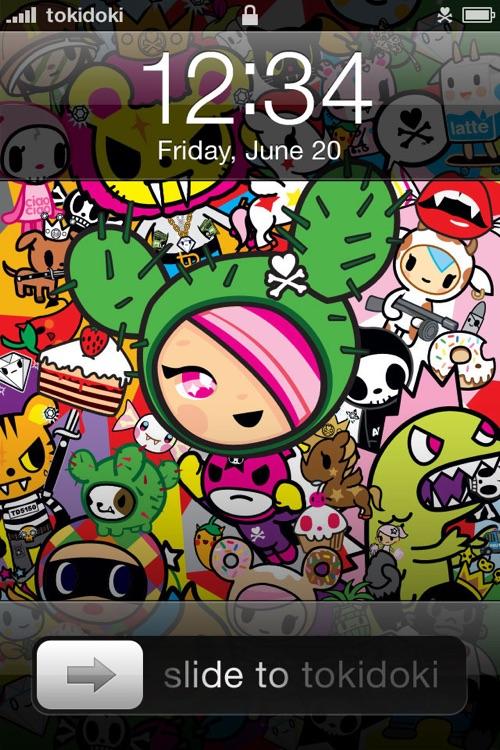 tokidoki! Criminally Cute Backgrounds and Wallpapers screenshot-4