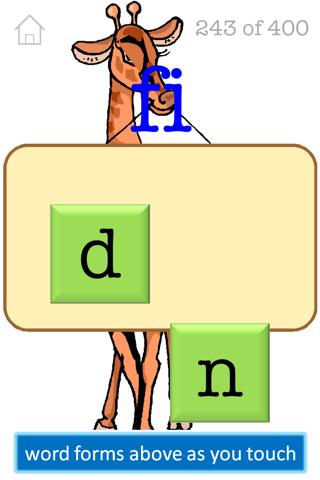 Preschool Spelling FREE screenshot two