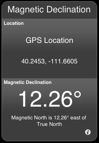 Magnetic Declination