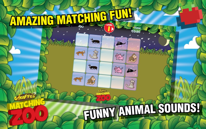 Giraffes Matching Zoo Screenshot