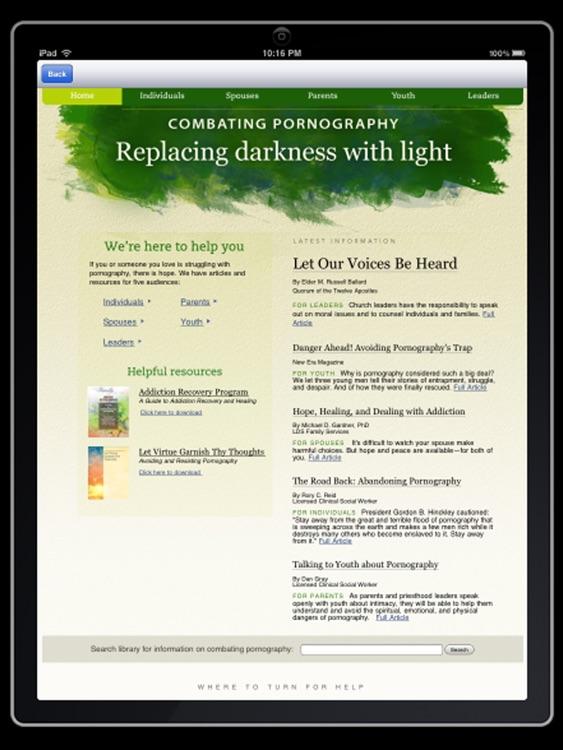 LDS Media OnDemand for iPad screenshot-4