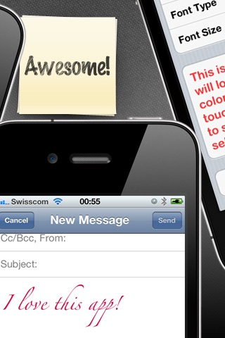 Fancy Mail - Enhance Mail with Fonts and Colors screenshot-3